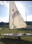 1986 Laser sailboat