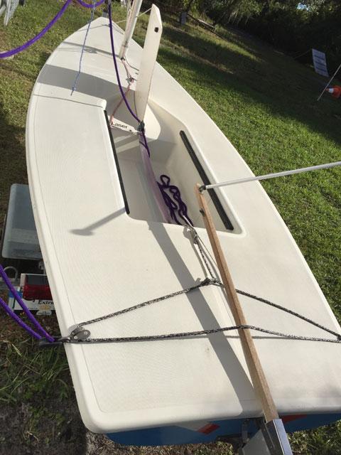 Laser 14, 1984 sailboat