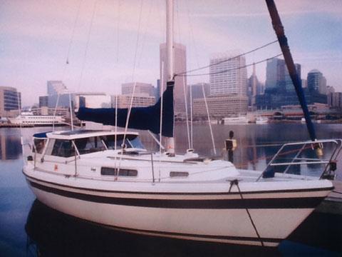 LM 28 Pilothouse Sailing Sloop 1986 sailboat
