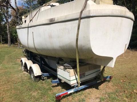 Luger Voyager 30 ft kit sailboat