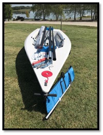 Megabyte, 2017 sailboat