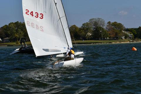 Melges MC Skow 16 ft., 2007 sailboat