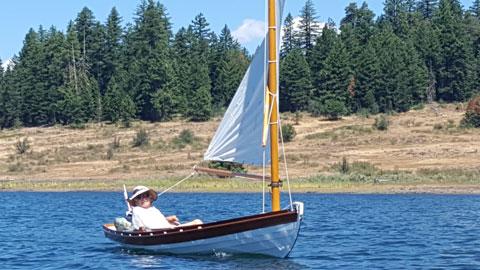 Melonseed Skiff, 1995 sailboat