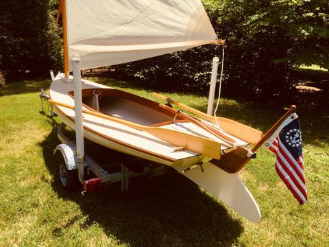 Crawford Melonseed Skiff, 2014 sailboat