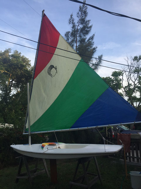 AMF Alcort Minifish (mid-1970s) sailboat