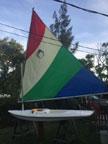 mid 70s Minifish sailboat