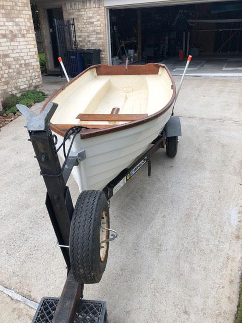 Montgomery 10 sailboat
