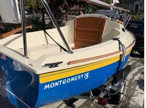 Montgomery 15, 2017, sailboat
