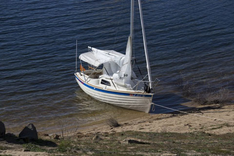 Montgomery 15, 2010 sailboat
