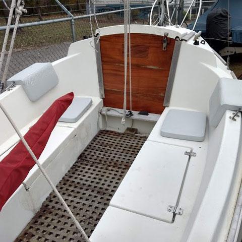 Montgomery 15 ft micro cruiser, 2002 sailboat