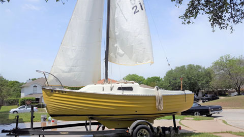 Montgomery 17, 1976 sailboat