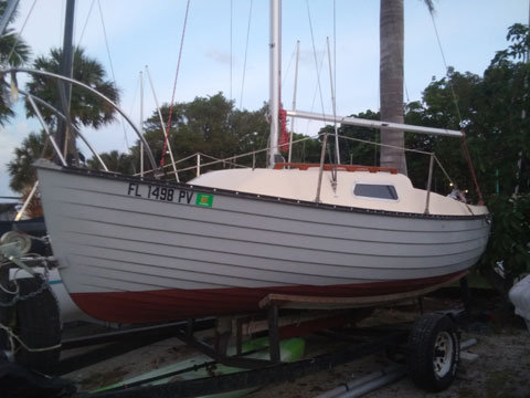 Montgomery 17, 1980 sailboat