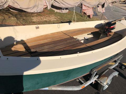 Florida Bay Mud Hen, 1985 sailboat