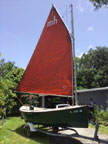 1984 Florida Bay Mud Hen sailboat