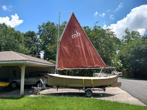 Florida Bay Mud Hen, 1983 sailboat
