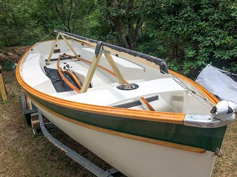 Naiad 18, 1986 sailboat