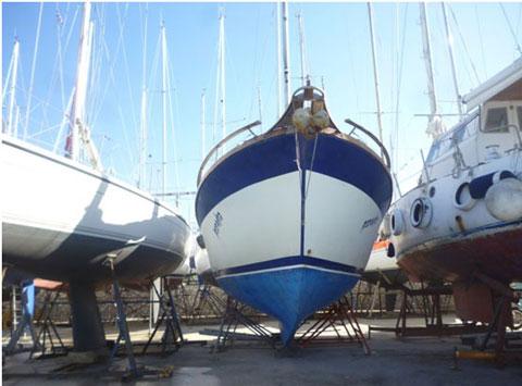 Nauticat 33 sailboat