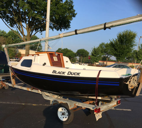 Lockley Newport 16, 1979 sailboat