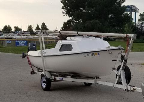 Newport 16, 1972 sailboat