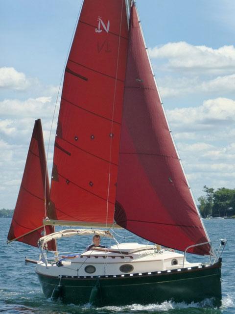 Nimble 20, Tropical Yawl, 1987, sailboat