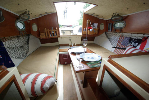 Nimble 20, sailboat