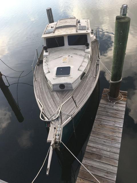 Nimble Arctic motor sailor, 1986 sailboat