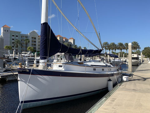 Nonsuch 33, 2001, sailboat