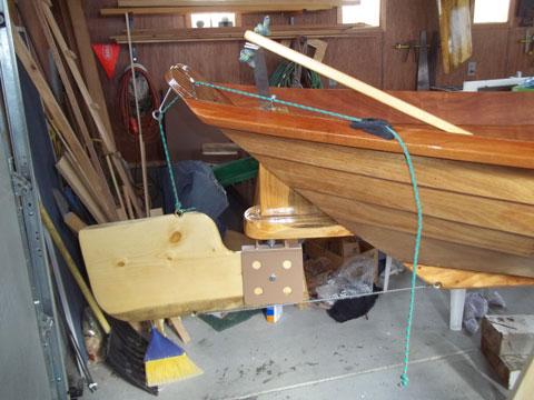 Northeaster Dory 17', 2012 sailboat