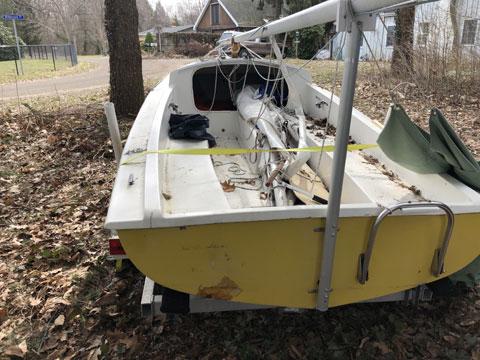 O'Day 17 , 1978 sailboat