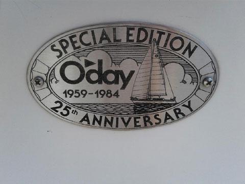 O'Day Daisailer II, 1984 sailboat