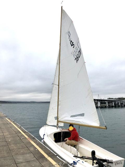 O'day Daysailer II 17, 1975 sailboat