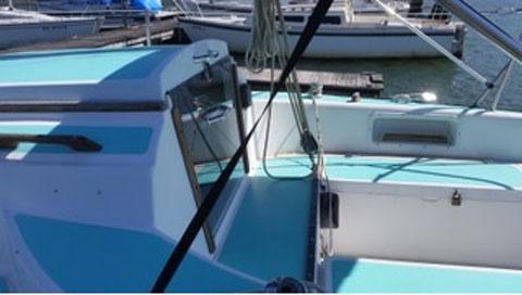 Oday 25 ft, 1977 sailboat