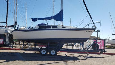 O'Day 272, 1987, sailboat
