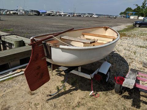 Oxford dinghy, 10 ft sailboat