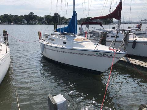 Pearson Triton 25, 1984 sailboat