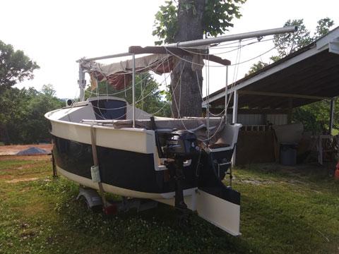 Peep Hen, 1998 sailboat
