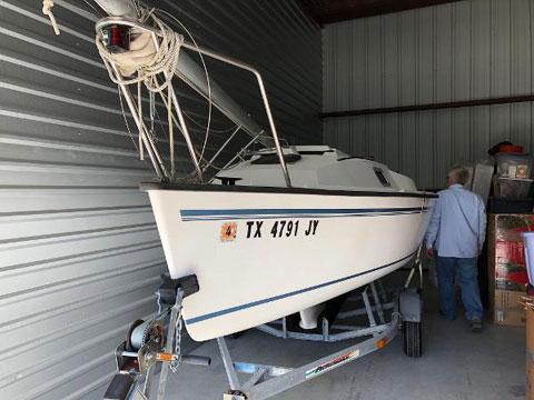 Precision 16.5, 2004 sailboat