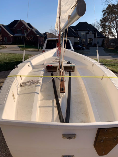 Precision 16, 1985 sailboat