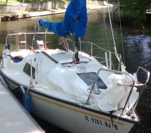 Precision 18, 1986 sailboat