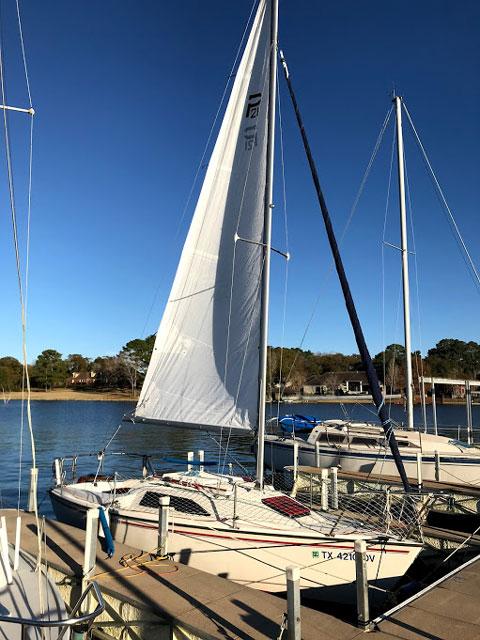 Precision 21, 1988 sailboat