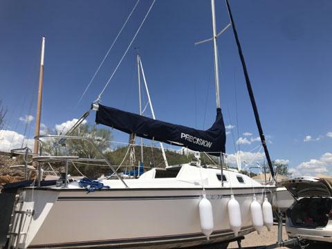 Precision 21, 2007 sailboat