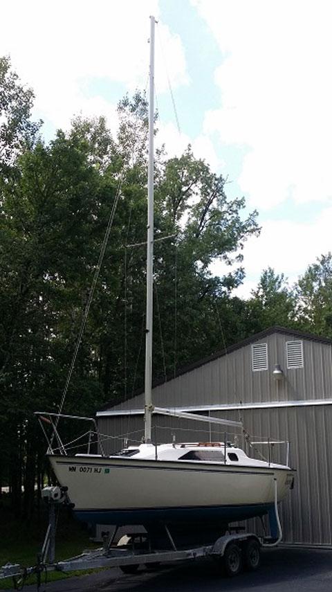 Precision 23, 1993 sailboat