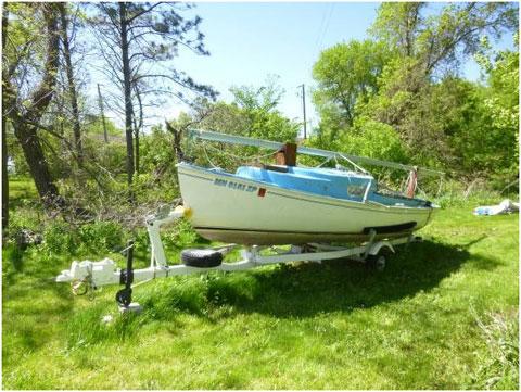 Rhodes Mariner 19, 1969 sailboat
