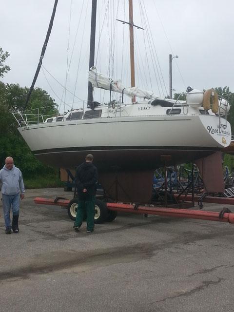 S2 9.2 C, 1978 sailboat