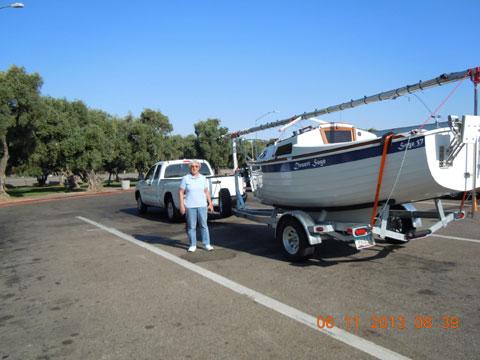 Sage 17, 2013, sailboat