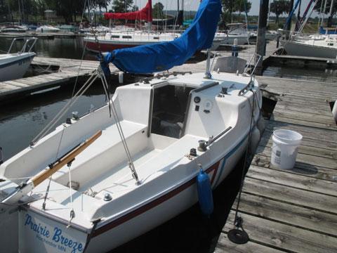 San Juan 21 MKII, 1977 sailboat
