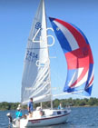 1981 San Juan 21 sailing boat