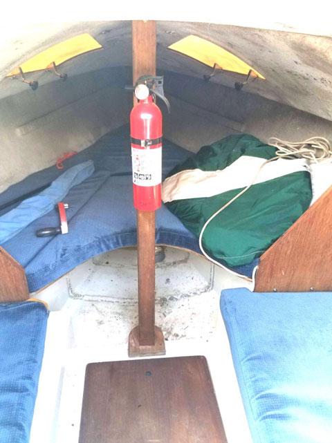 WD Schock Santana 20, 1988 sailboat