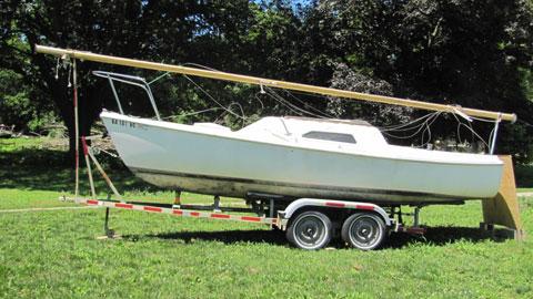 Santana 21, 1973 sailboat