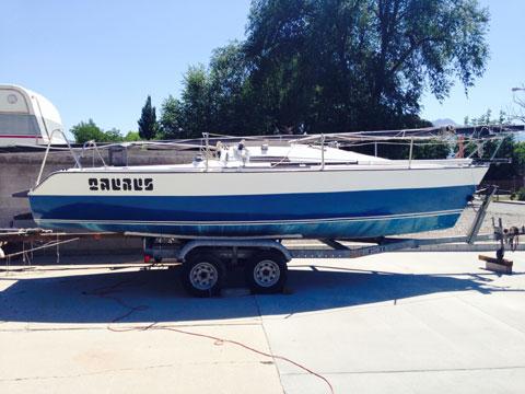 SANTANA 23 D, Three boats, 1980 and 1981, sailboat